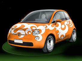 Medi�ln� mas� pro nov� Fiat 500