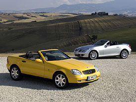 Mercedes-Benz SLK: 10 let na trhu