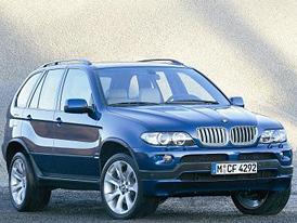 Poslední BMW X5 první generace