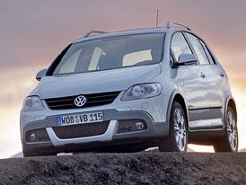 VW Golf Plus Cross: Rozšíření nabídky