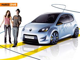 Paříž živě: Renault Twingo Concept