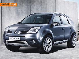 Paříž živě: Koncept SUV od Renaultu s názvem Koleos
