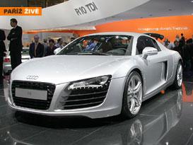 Audi R8: první pařížské dojmy+cena