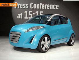 Paříž živě: Suzuki Project Splash