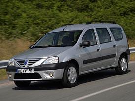 Dacia Logan MCV na českem trhu od 235.900,-Kč