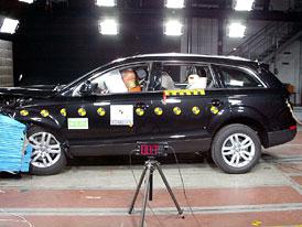 Aktuální výsledky pěti testů Euro NCAP (Mazda3, Q7, třída B, Galaxy a C4 Picasso)