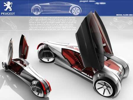 Design Peugeot potřetí: dva Češi v širším finále