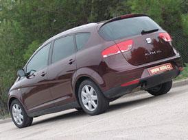 Seat Altea XL přijede s přeplňovaným motorem 1.8 TFSI (118 kW)
