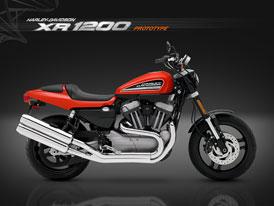 Harley-Davidson p�ekvapil s XR 1200 Prototype
