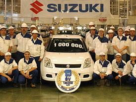 Suzuki vyrobilo miliontý automobil v Maďarsku