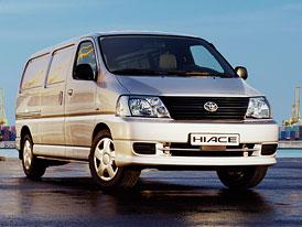Faceliftovaná Toyota Hiace