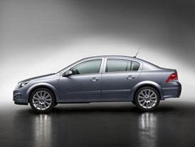 Opel Astra Sedan: na českém trhu od září 2007