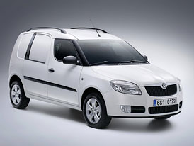 Škoda Praktik: skříňový Roomster s novým motorem 1,2 12V (51 kW)