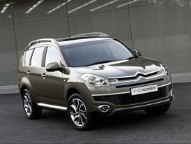 Citroën C-Crosser startuje na 33 590 eurech a bude druhým nejdražším modelem