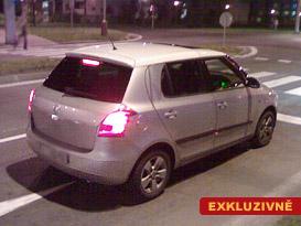 Spy Photo Škoda Fabia II: První foto zádě