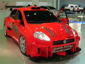 Fiat Grande Punto Radicale: Ve svitu půlměsíce