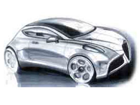 Alfa Romeo také ukázala karty: Junior, Crosswagon, 169 a crossover