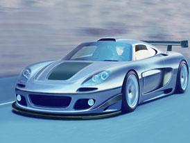 Gemballa Mirage GTR concept: Carrera GT s twin-turbem