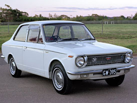 Toyota Corolla: z Japonska před 40 lety