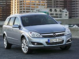 Opel Astra 2007: Lehký facelift a nové motory