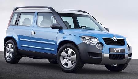 Výroba vozu Škoda Yeti definitivně potvrzena