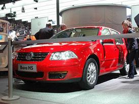 Peking 2006: Volkswagen Bora HS jako lepší Golf IV