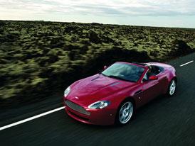 Aston Martin V8 Vantage Roadster kone�n� odhalen