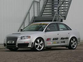 Nejrychlejší Audi A4? Přece HS 650 Nardo