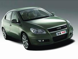 Peking 2006: Chery A3 s designem od Pininfariny