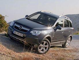 Opel Antara: První setkání a jízdní dojmy