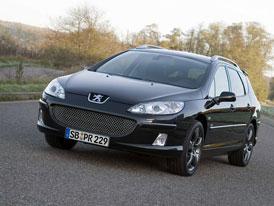 Peugeot 407 SW RC: sportovní kombi?