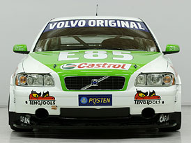 Volvo chce vyhrát Švédský šampionát cestovních vozů s E85