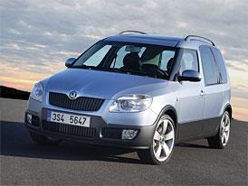 Škoda Roomster vede třídu na sedmi evropských trzích