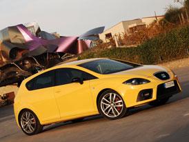 SEAT Leon Cupra: Nejsiln�j�� �pan�l v�ech dob (177 kW)