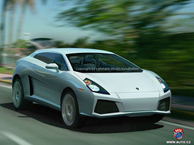 Spy Photos: nov� SUV Lamborghini