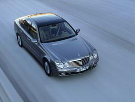 Mercedes-Benz E 220 CDI Energy: akční model za 1,2 milionu Kč pro ČR