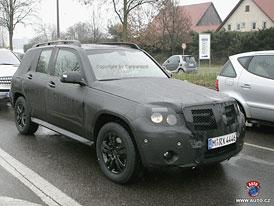 Mercedes-Benz GLK přijde na trh v září 2008