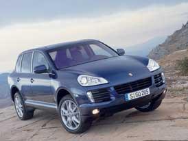 Hybridní Porsche Cayenne Turbo? Asi až v roce 2009