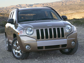Jeep Compass na �esk�m trhu od 715.000,-K�