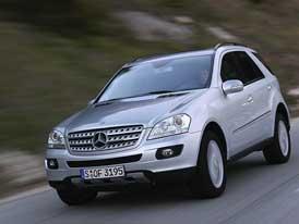 Mercedes-Benz ML 500 s 285 kW: střídání pětilitrů