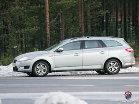 Spy Photos: Ford Mondeo kombi (zimní testy ve Skandinávií)
