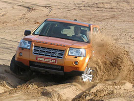 Land Rover Freelander: Pouštní jízdní dojmy
