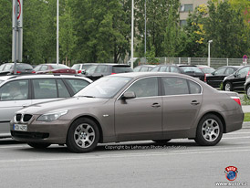 Spy photos: BMW 5 facelift