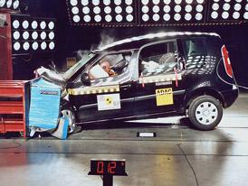 Euro NCAP: Škoda Roomster má 5 hvězd a jedno zaváhání