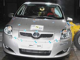 Euro NCAP: pět hvězd pro Toyotu Auris bez zaváhání