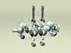 Čtyřválcový motor: hlavní konstrukční znaky a funkce (video)
