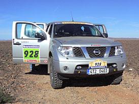 Dakar 2008: Nissan Navara - dakarsk� press car a jeho putov�n�