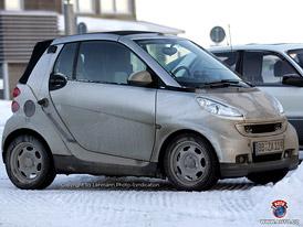 Spy Photos: Nový Smart ForTwo Brabus na sněhu