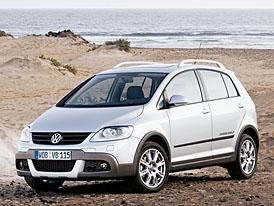Volkswagen CrossGolf na českém trhu od 642.900,-Kč