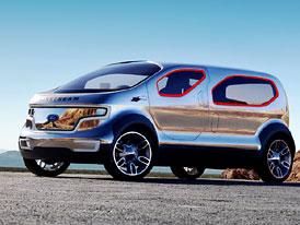 Detroit 2007: Ford Airstream concept  - crossover budoucnosti